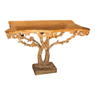 19 C. Or Earlier Chippendale Console Attributed to Vile and Cobb For Sale