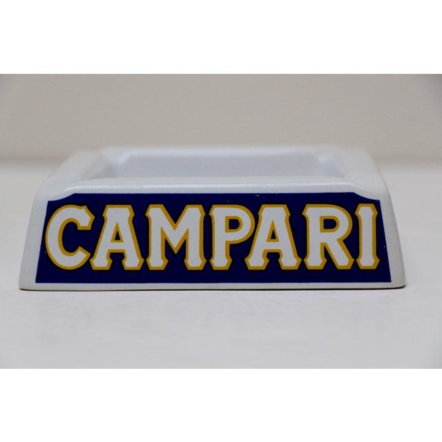Italian Porcelain Campari Ashtray - Image 5 of 7