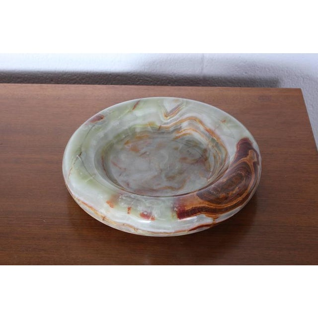 Large Onyx Bowl by Sergio Asti - Image 8 of 10