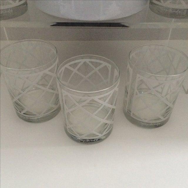 Georges Briard Mid-Century Ice Bucket & Glasses - Image 5 of 6