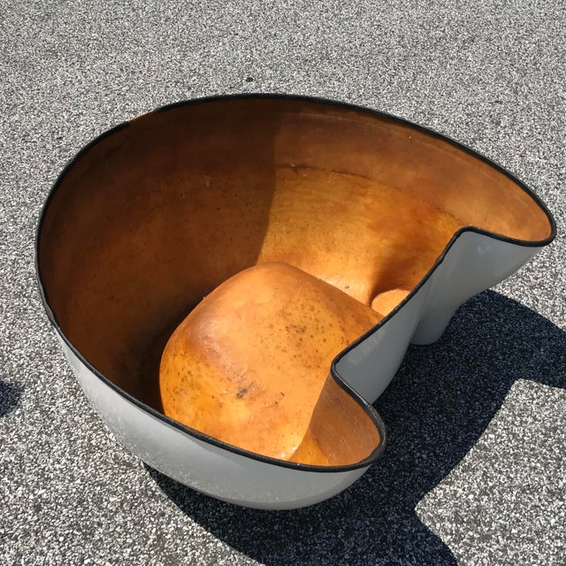 "Plastic Wendell Castle White Fiberglass ""Castle Chair"" For Sale - Image 7 of 11"