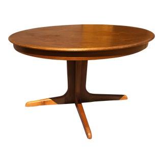 1960s Danish Modern Niels Koefoed for Hornslet Extendable Table For Sale