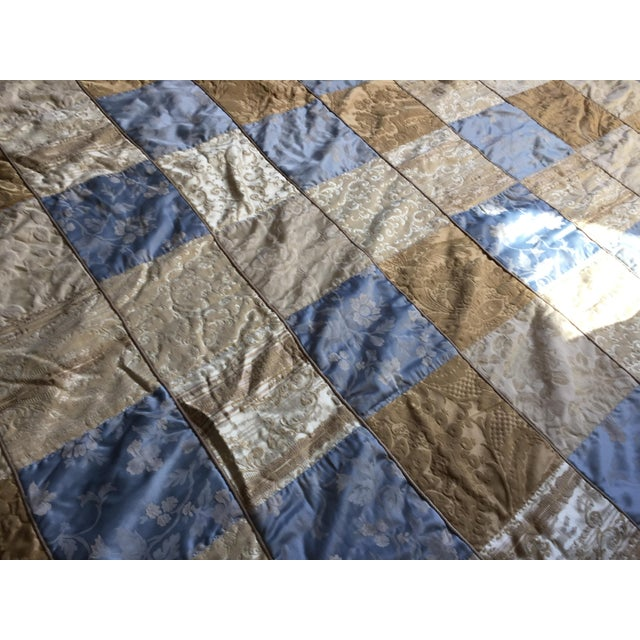 Cottage Sherry Koppel Designs Handmade King Size Quilt or Wall Hanging For Sale - Image 3 of 12