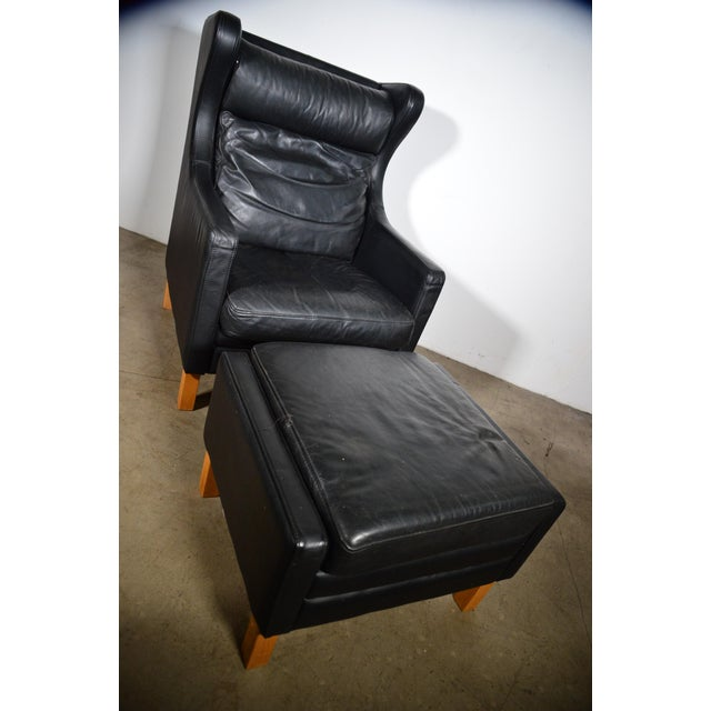 Mogen Hansen produced version of Børge Mogensen's famous lounge chair model 2421 one of the most elegant Classic mid-...