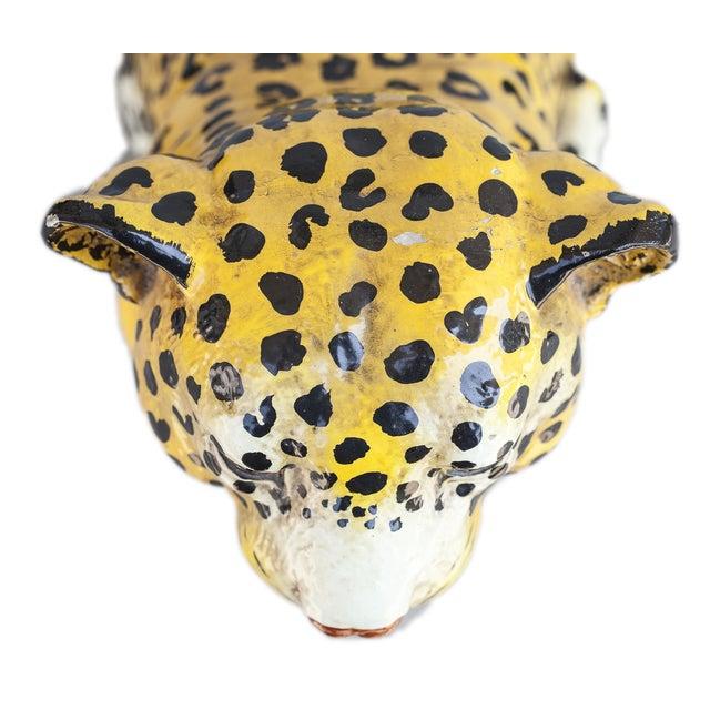 Mid-Century Ceramic Leopard - Image 3 of 10