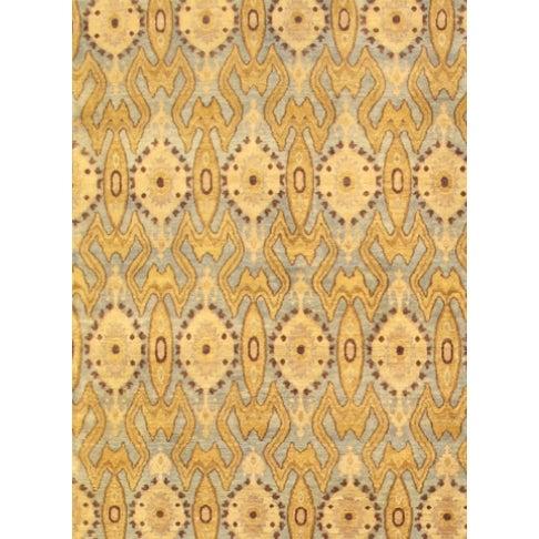 "Pasargad Ikat Lamb's Wool Rug - 8'1"" X 10'5"" - Image 2 of 2"