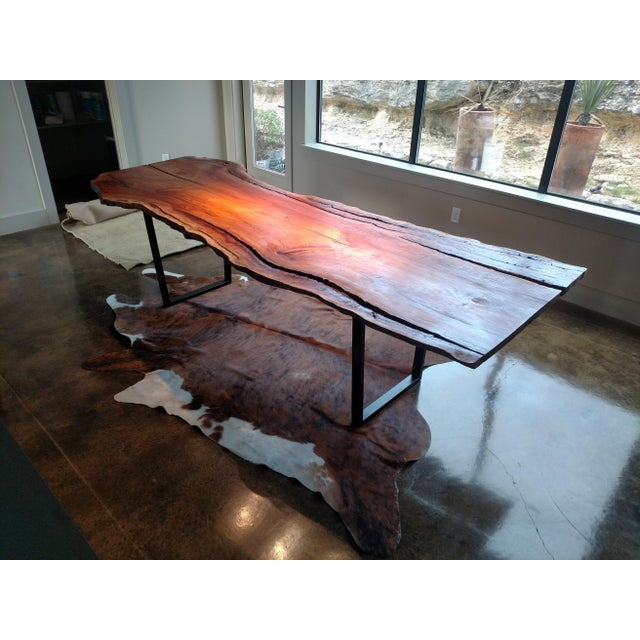 "New Solid Wood Live Edge table. Perfect for a dining or conference table. Wood thickness 1.5"". Wood species sycamore...."