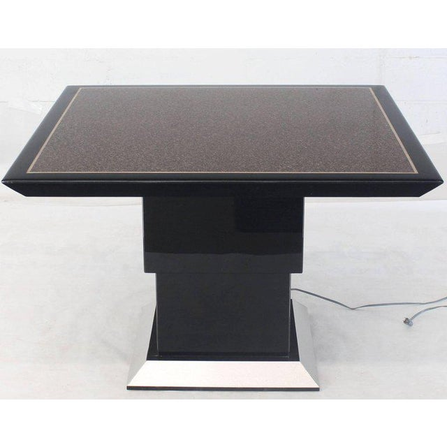 Remote Controlled Hi-Lo Adjustable Height Convertible Coffee Dining Game Table For Sale - Image 12 of 12