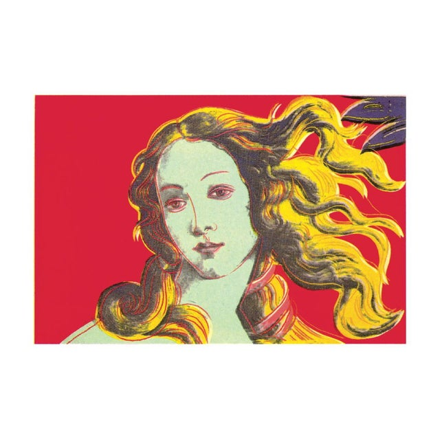 Modern 2000 Andy Warhol Birth of Venus Red Poster For Sale - Image 3 of 3