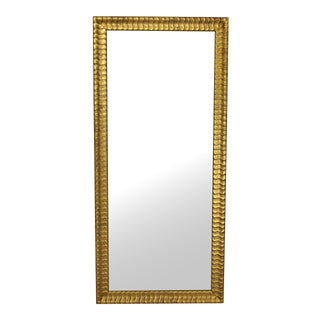 Lovely Modern Gold Rectangular Mirror