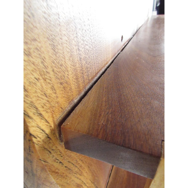 Modern Live Edge Wall Shelf After George Nakashima For Sale - Image 10 of 13