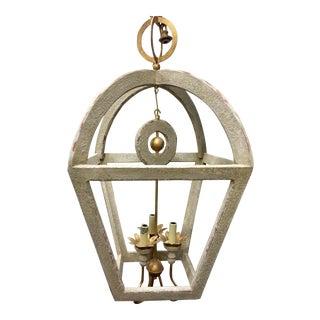 Nina Wooden Lantern