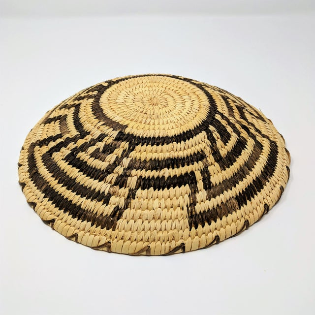 Textile 20th Century Native American Tohono O'odham Woven Basket For Sale - Image 7 of 9