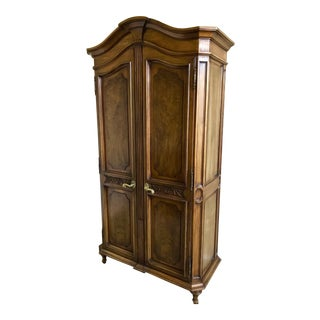 Karges French Country Style Armoire For Sale
