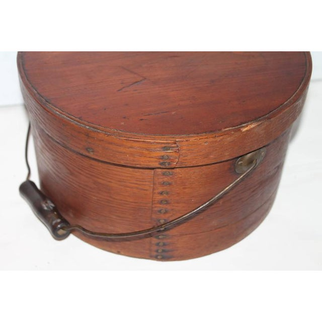 Adirondack Group of Two 19th Century Bail Handled Pantry Boxes from New England For Sale - Image 3 of 10