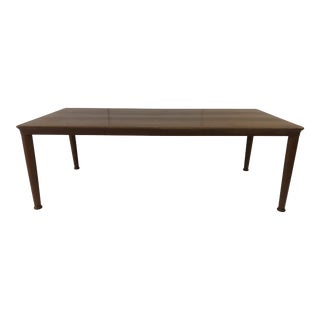 Vintage Mid Century Modern Teak Coffee Table Made in Denmark For Sale