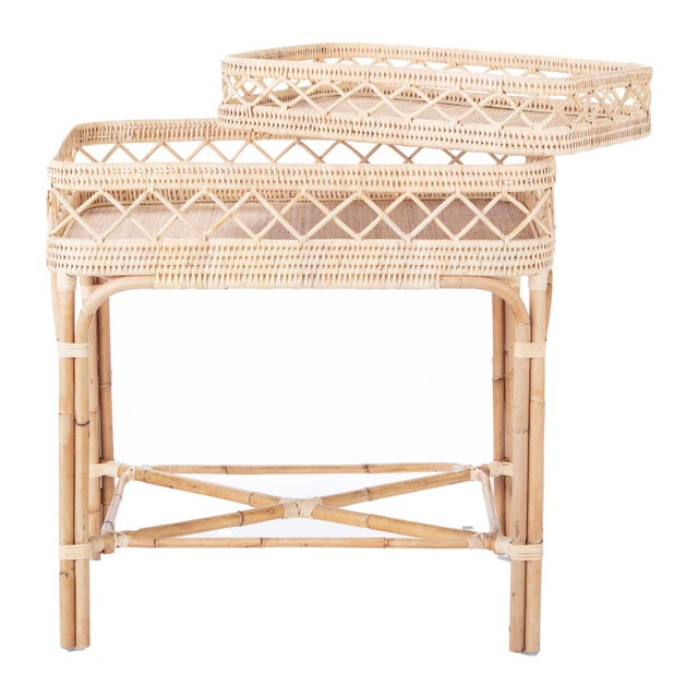 Boho Chic Lyford Bar Table For Sale - Image 3 of 5
