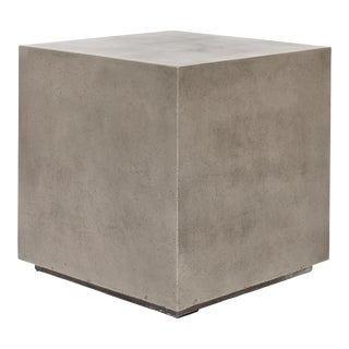 Clara End Table - Dark Grey For Sale
