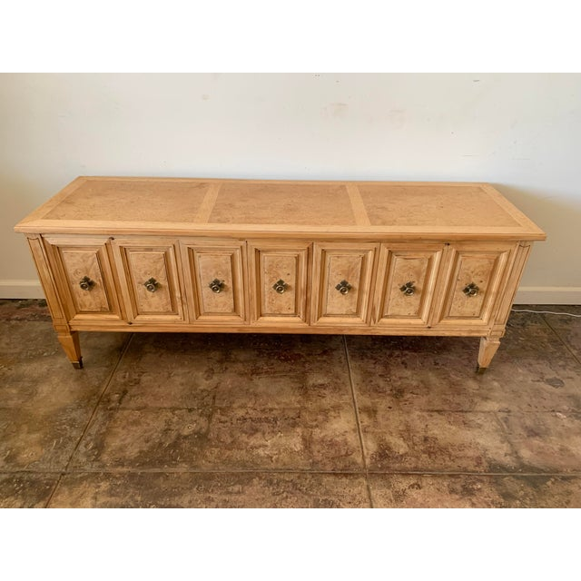 1950s Scandinavian Birch Petite Console Table For Sale - Image 4 of 8