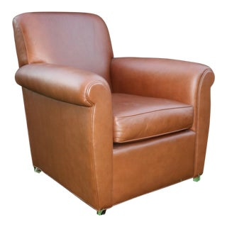 Baker Furniture & Coach Leather Club Chair