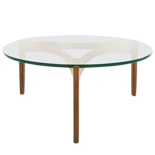 Teak Coffee Table by Sven Ellekaer, Denmark, 1960s For Sale