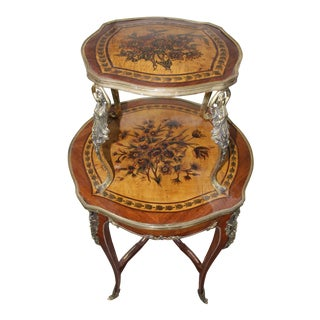 19th Century French Louis XV Dessert Table For Sale