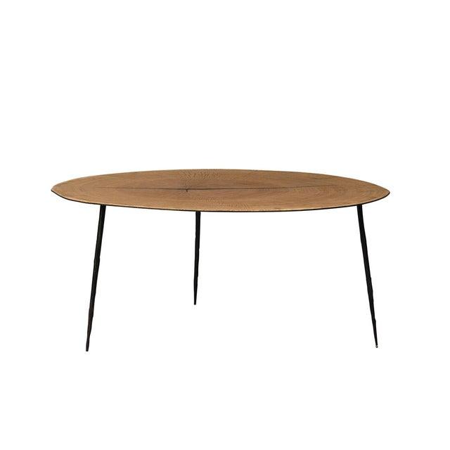 Wood Slice Coffee Table.Modern Wood Slice Coffee Table
