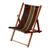 Image of Vintage Children's Deck Chair For Sale