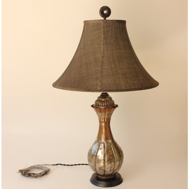 Tinned Copper Table Lamp - Image 2 of 6
