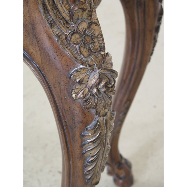 Modern Italian Carved Console Table For Sale In Philadelphia - Image 6 of 11