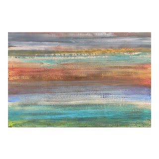 Original Painting Contemporary Coastal Modern Landscape