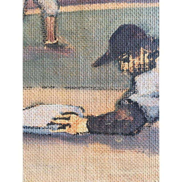 Arthur Smith Baseball Watercolors From 'Baseball' Series - A Pair For Sale - Image 9 of 11