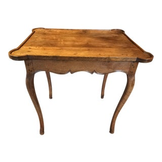 Early 19th Century French Oak Side Table