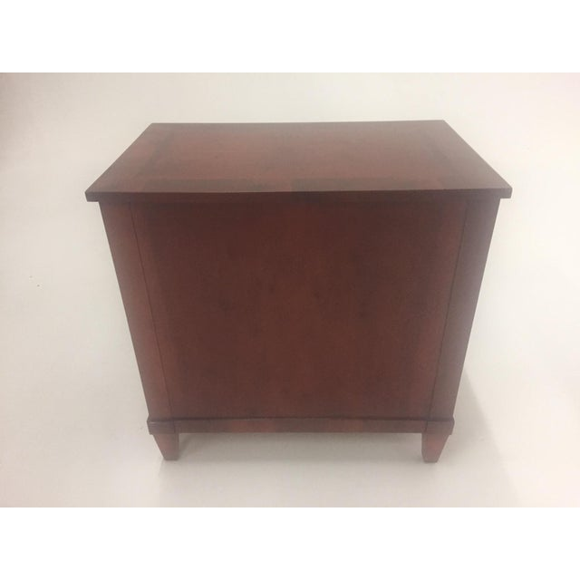 1980s Empire Style Small Chest of Drawers Commode For Sale - Image 5 of 12