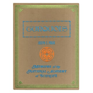 """1974 """"Turquois: Memoirs of the National Academy of Sciences Volume Xii, Part Ii"""" Coffee Table Book For Sale"""