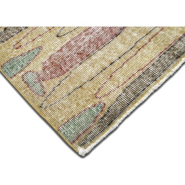 Mid-Century Modern 1960s Turkish Mid Century Carpet For Sale - Image 3 of 5