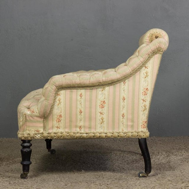 Mid 19th Century French 19th Century Armchair For Sale - Image 5 of 11
