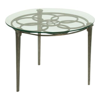 Sarreid LTD Railroad Nail Leg Table
