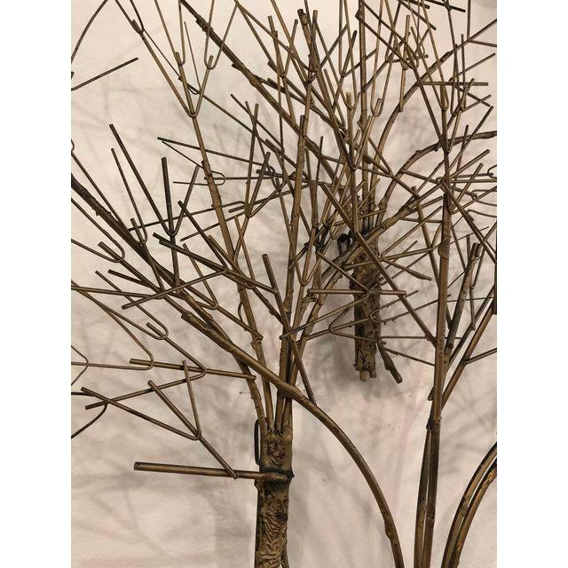 Vintage Metal Tree Wall Art Sculpture For Sale - Image 10 of 11