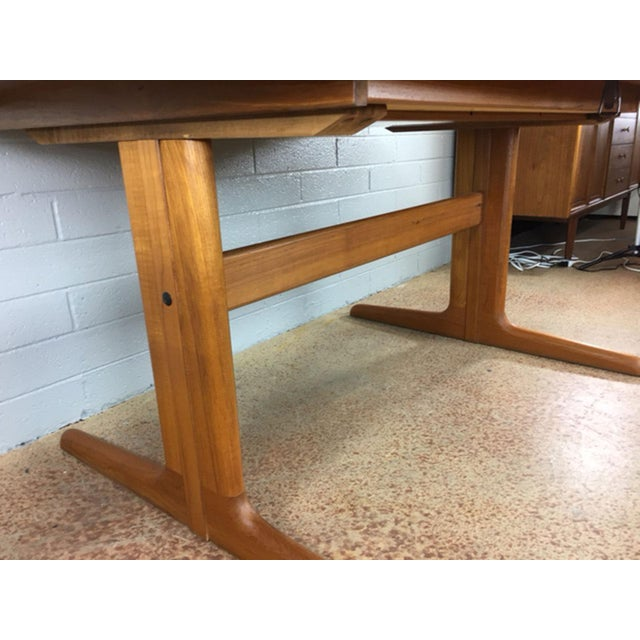 Dyrlund Danish Teak Dining Table - Image 4 of 7