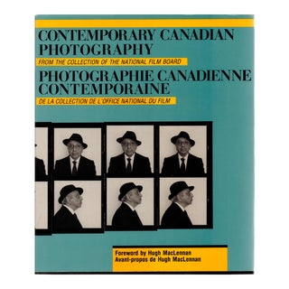 "1984 ""Contemporary Canadian Photography"" Coffee Table Book For Sale"