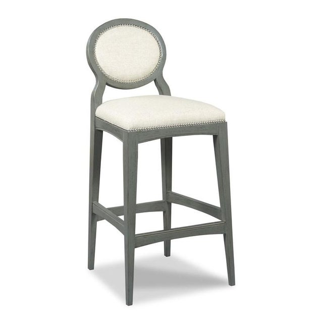 Traditional Modern Ventura Bar Stool For Sale - Image 3 of 3