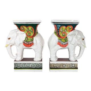 Italian Elephant Garden Seats For Sale