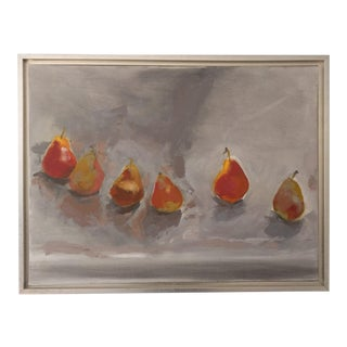 Pears in Space Oil Painting