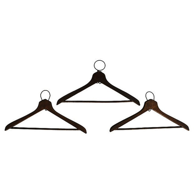 1930's Coat Check Numbered Hangers- Set of 6 - Image 3 of 5