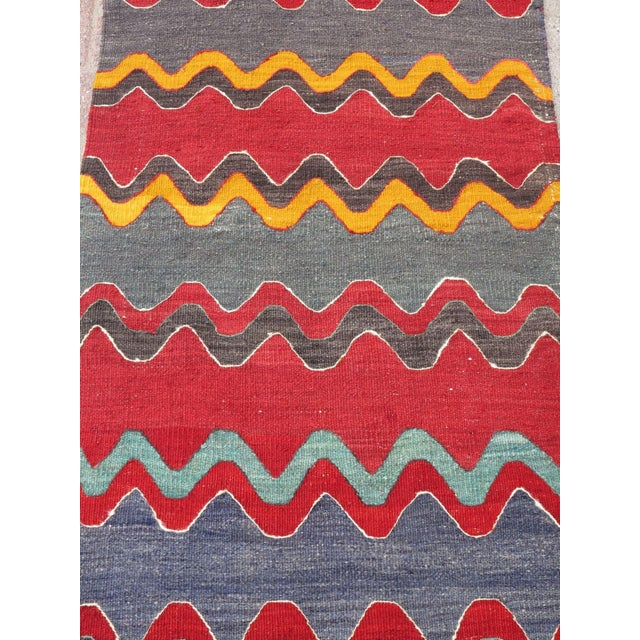 Vintage Turkish Oversized Kilim Runner - 2′2″ × 15′8″ - Image 7 of 11