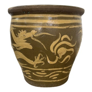Extra Large Asian Dragon Garden Planter For Sale