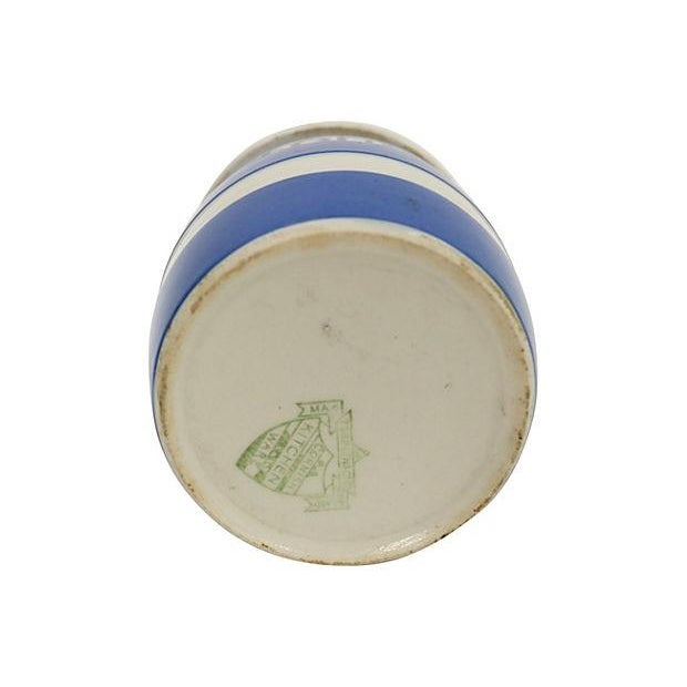 Vintage English Cornishware Flour Shaker - Image 2 of 2