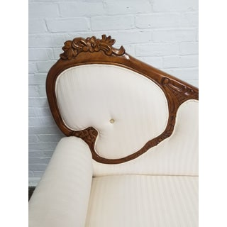 Victorian Style Ivory Settee Preview