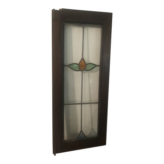 1940s Stain Glass Window For Sale